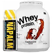 Fitness Authority Whey Protein + L-Carnitine 3000 Plus GRATIS!