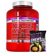 Scitec 100% Whey Protein Professional + BCAA Chews