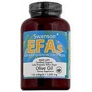 Swanson EFA's Olive Oil Extra Virgin 1000mg