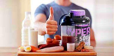 Dieta na masę mięśniową dla mężczyzny o wadze 80kg