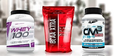 Aminokwasy BCAA a białko i kreatyna
