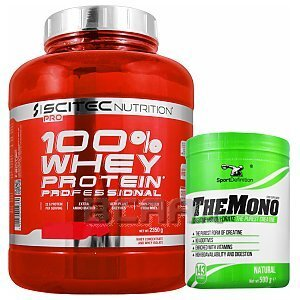 Scitec 100% Whey Protein Professional + Sport Definition The Mono 2350g+500g [promocja] 1/1