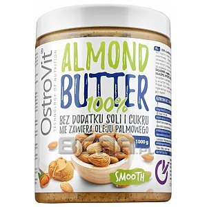 OstroVit 100% Almond Butter Smooth 1000g 1/1