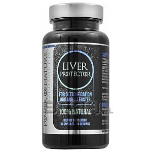 Power of Nature Liver Protector 30kaps. 1/2