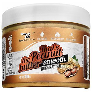Sport Definition That's The Peanut Butter Smooth 300g 1/2