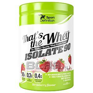 Sport Definition That's the Whey Isolate 600g-640g 1/1