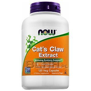 Now Foods Cat's Claw Extract 120kaps. [promocja] 1/2
