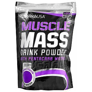 BioTech USA Muscle Mass 1000g 1/1