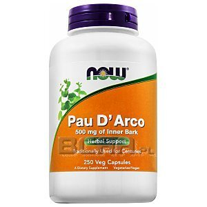 Now Foods Pau D'Arco 250kaps. 1/2