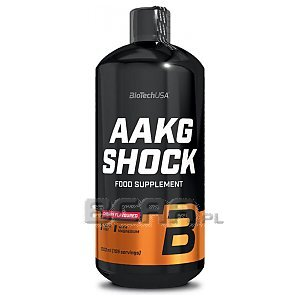 BioTech USA AAKG Shock 1000ml 1/1