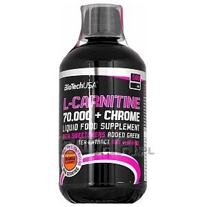 BioTech USA L-Carnitine 70.000 + Chrome 500ml 1/1