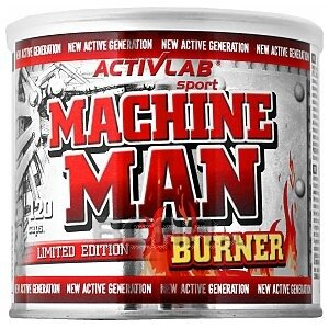 Activlab Machine Man Burner 120kaps. Limited Edition 1/1