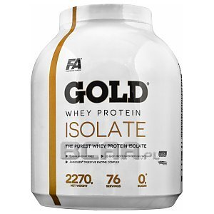 Fitness Authority Gold Whey Protein Isolate 2270g 1/1