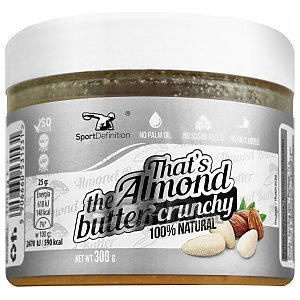 Sport Definition That's The Almond Butter Crunchy 300g 1/2
