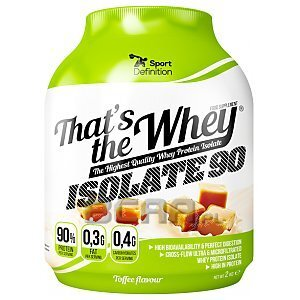 Sport Definition That's the Whey Isolate 2000g-2100g [promocja] 1/1