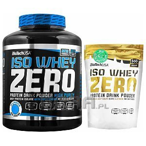 BioTech USA Iso Whey Zero Christmas Special 2270g+500g 1/4