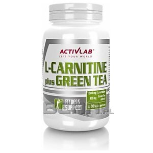 Activlab L-Carnitine Plus Green Tea 60kaps. 1/2
