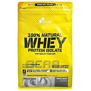 Olimp 100% Natural Whey Protein Isolate 600g [promocja] 1/2