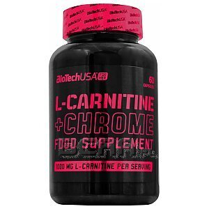 BioTech USA For Her L-Carnitine + Chrome 60kaps. [promocja] 1/1