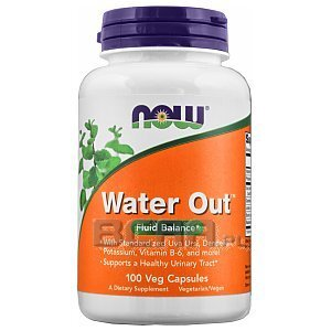 Now Foods Water Out 100kaps. [promocja] 1/1