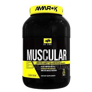Amarok Nutrition Be Muscular More 1000g 1/2