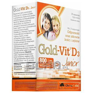 Olimp Gold-Vit D3 Junior 30sasz. 1/3