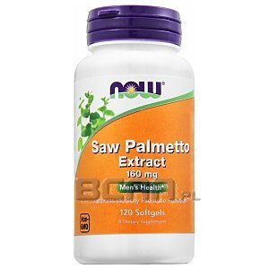 Now Foods Saw Palmetto Extract 120kaps. 1/2