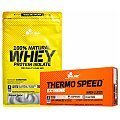 Olimp 100% Natural Whey Protein Isolate + Thermo Speed Extreme Mega Caps