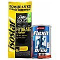 Isostar Hydrate & Perform Koncentrat + Nutrend Flexit Drink